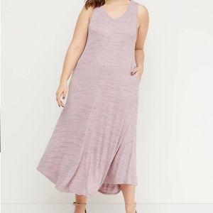 Lane Bryant Ribbed Maxi Dress, Size 18/20, NWT